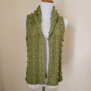 Vintage Cottage Core Style Knit Vest